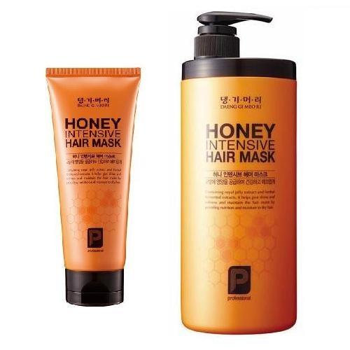 Корейская маска для волос медовая