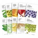 Маски тканевые для лица с натуральными экстрактами THE FACE SHOP Real Nature Face Mask 20ml